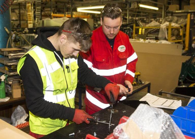 National Apprenticeship Week at Allett Mowers