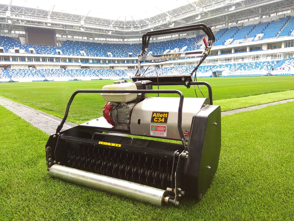 Allett mowers used at Russian Football Tournament venues | Allett Mowers