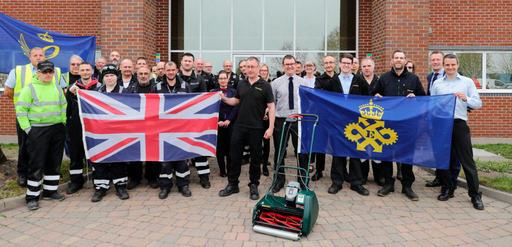 QUEENS AWARD - Allett Mowers