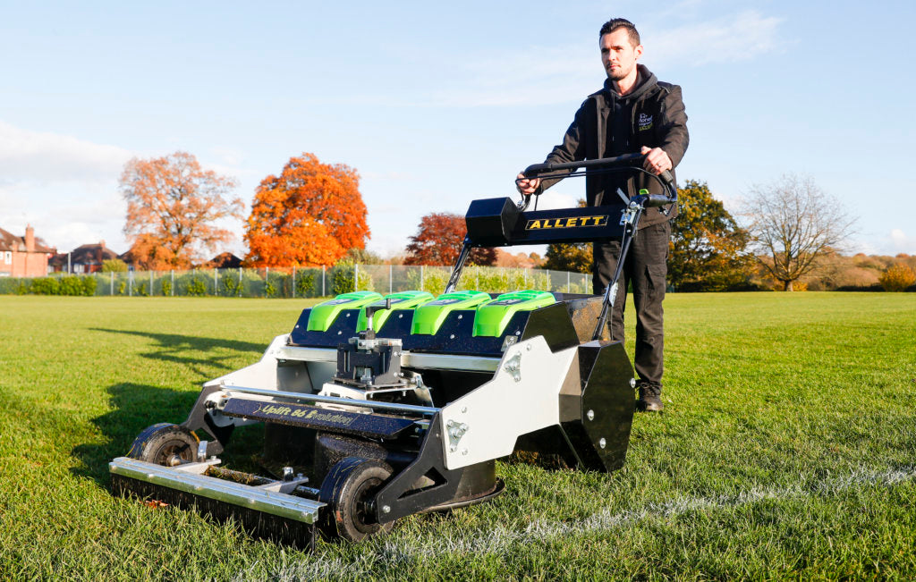 The Perfect Football Pitch Mower