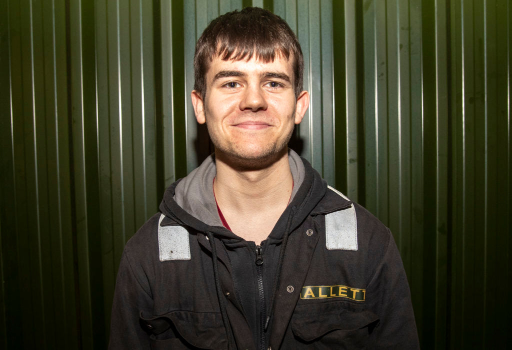 Aidan Rotheroe Joins Allett as Manufacturing Apprentice
