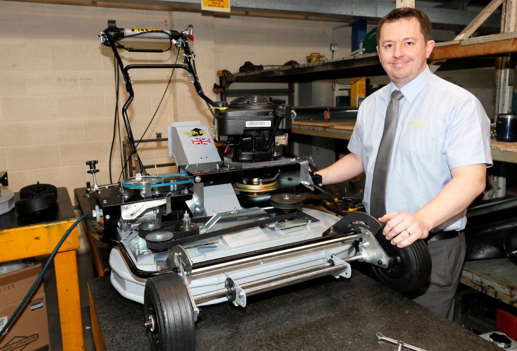 Alistair Gill joins Allett as Senior Quality Engineer | Allett Mowers