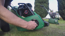 Load and play video in Gallery viewer, Allett Classic 14L Petrol Cylinder Mower