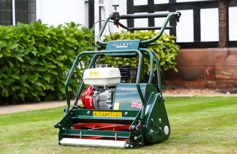 TEST Allett Buckingham 20H Petrol Cylinder Mower