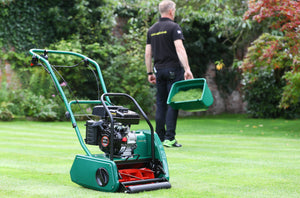 The Allett Classic Cylinder Mower