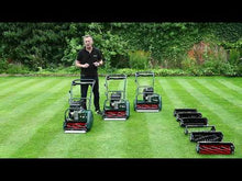 Load and play video in Gallery viewer, Allett Kensington 20B Petrol Cylinder Mower