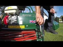 Load and play video in Gallery viewer, Allett Westminster 20H Petrol Cylinder Mower
