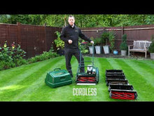 Load and play video in Gallery viewer, Allett Liberty 43 Battery Cylinder Mower