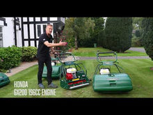 Load and play video in Gallery viewer, Allett Buckingham 20H Petrol Cylinder Mower