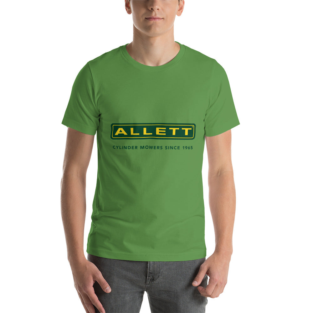 Allett Cylinder Mowers Since 1965 T-Shirt