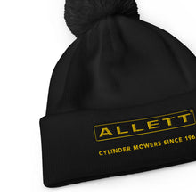 Load image into Gallery viewer, Allett Cylinder Mowers Since 1965 Pom Pom Beanie