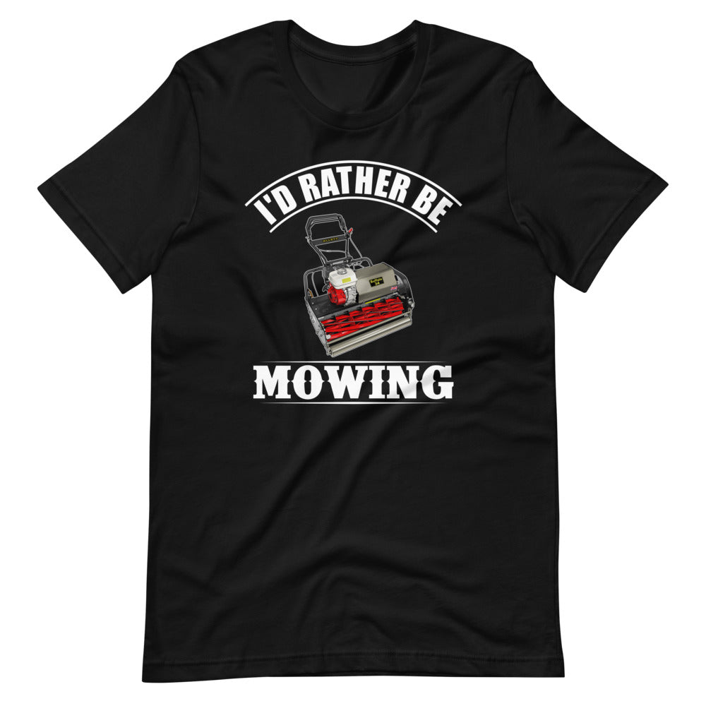 Allett I'd Rather Be Mowing Pro T-Shirt