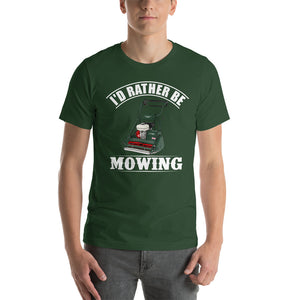 Allett I'd Rather Be Mowing T-Shirt