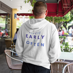 Load image into Gallery viewer, Men's Invest Early & Often Hoodie Sweatshirt