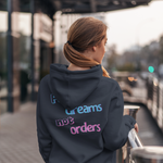 Load image into Gallery viewer, Women's Follow Dreams Not Orders Hoodie Sweatshirt