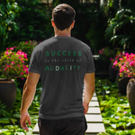 Load image into Gallery viewer, Men's Success Is The Child Of Audacity Shirt