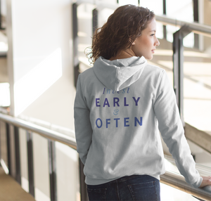 Women's Invest Early & Often Hoodie Sweatshirt