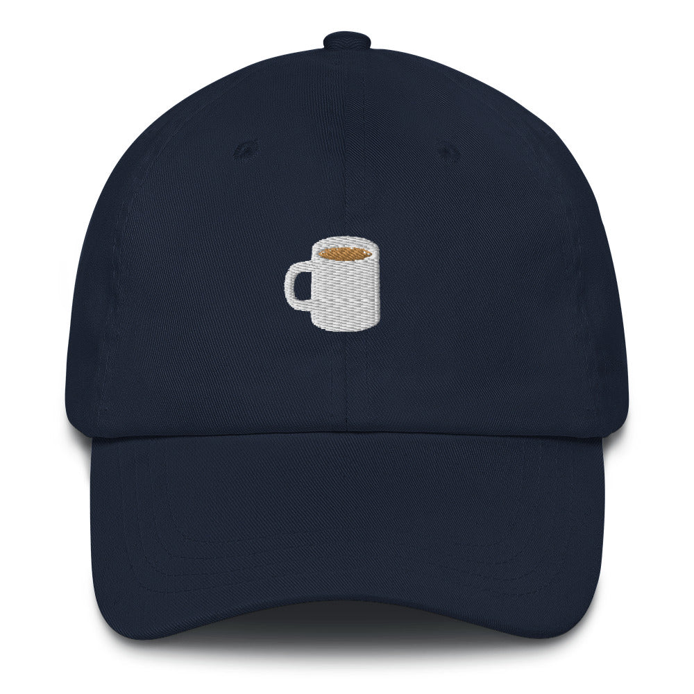 Coffee Cup Embroidered Dad Hat