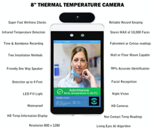 Load image into Gallery viewer, High Quality | Affordable & Accurate Temperature Screening & Record Keeping Kiosk:AveretteTech Shop