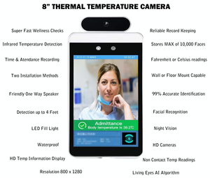 Non-Contact Temperature Scan & Record Keeping - High Quality - Affordable Business Package:AveretteTech Shop