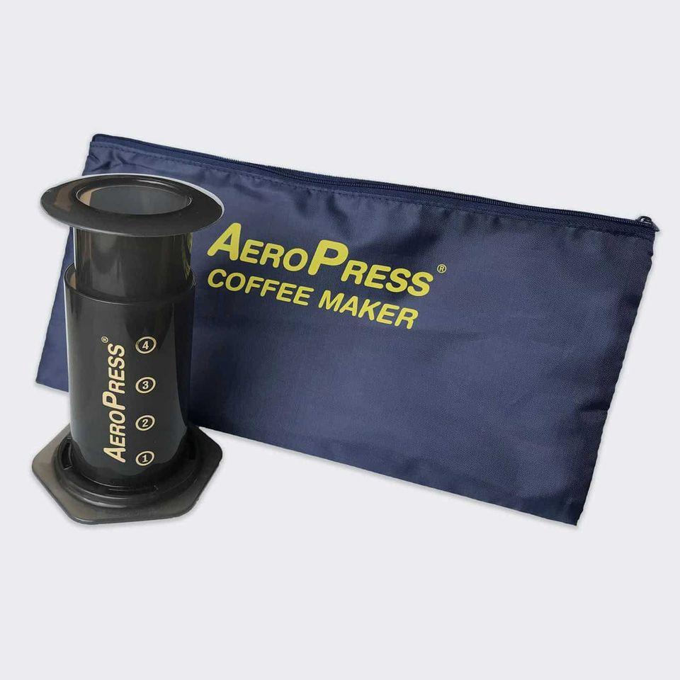 AeroPress® Coffee & Espressomaker with Tote Carry Bag - BLEND coffee roastery