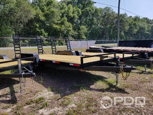 14K Equipment Trailer 7x20'