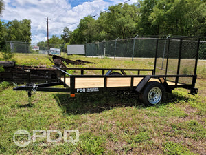 Single Axle Utility Trailer 6x12'