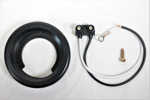 "Rubber Grommet and Pigtail - 2"" Round Trailer Lights - Flush Mount"