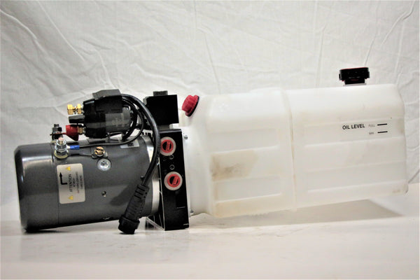 Dual Action Hydraulic Pump with Remote - 6 Qt