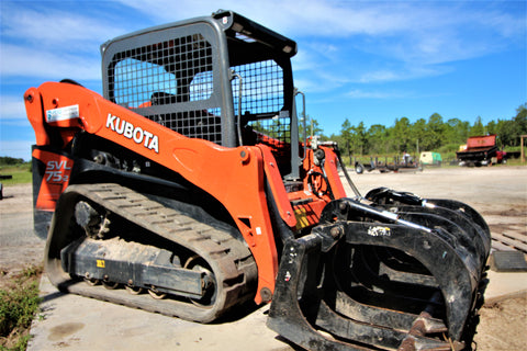 Kubota SVL75-2 Track Skid Steer 40413 RENTAL ONLY