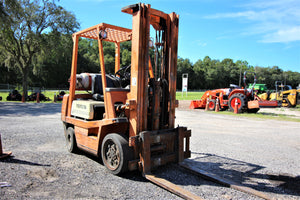 Toyota Fork Lift (on concrete only) RENTAL ONLY