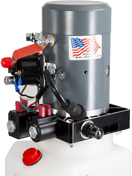 Dual Action Hydraulic Pump with Remote - 3 Qt