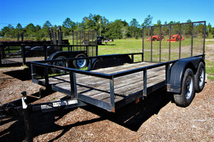 Taylor 6x10 Utility Trailer BFQU88 RENTAL ONLY