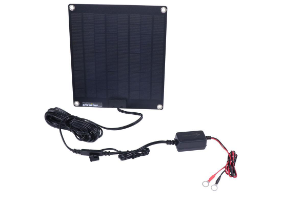 Bright Way Solar Battery Charger and Maintainer - 12 Volt