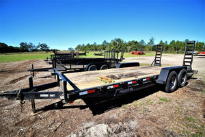 Taylor 7x20 Equipment Trailer KQPE23 RENTAL ONLY