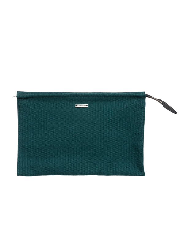 AAMU TOILETRY BAG, FOREST GREEN