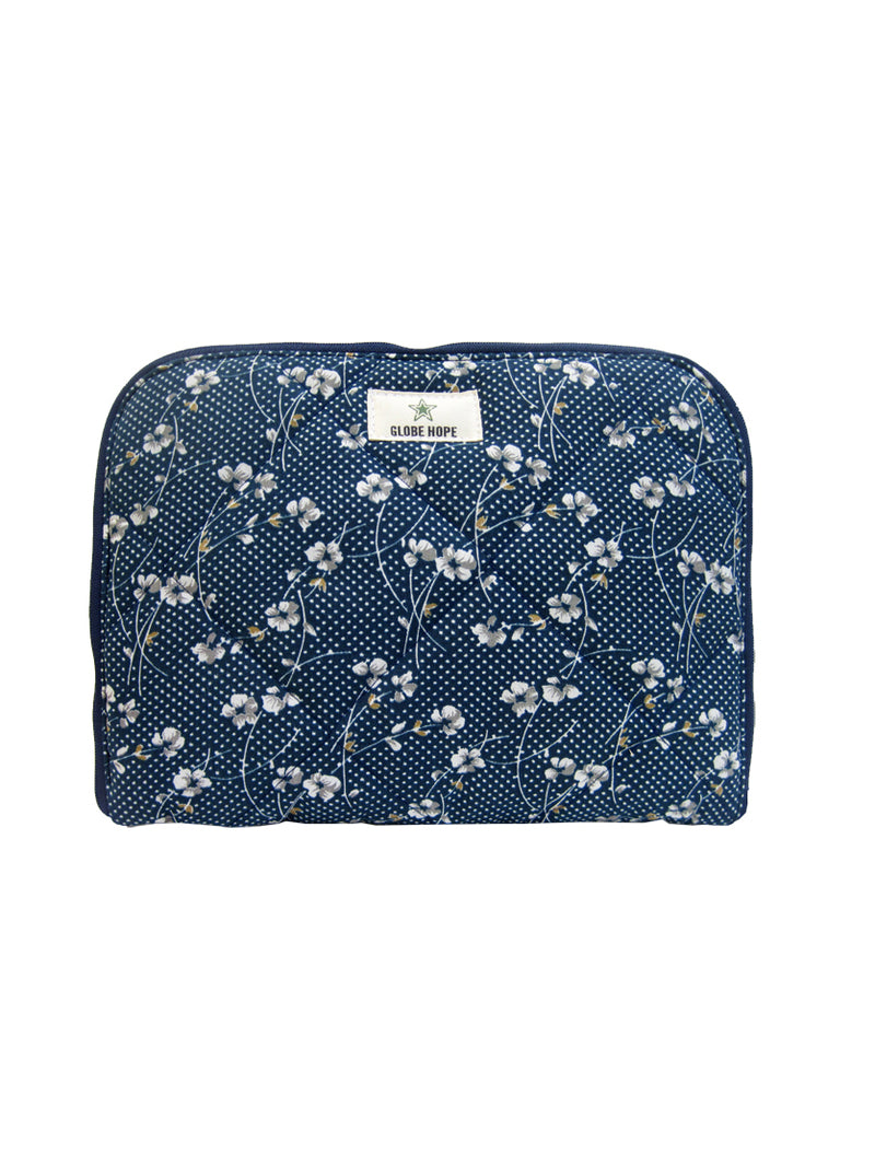 "KETO LAPTOP/TABLET COVER 10"", BLUE FLORAL"