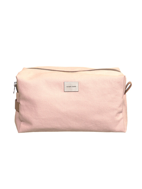 ROUTA TOILETRY BAG, PEACH