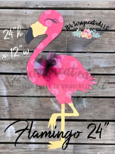 Pinkie, the Flamingo