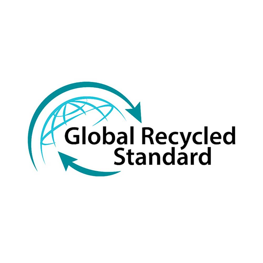 Global Recycled Standard Siegel für recycelten Materialien