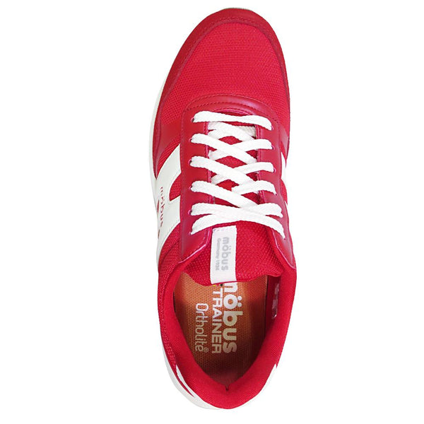 【mobus TRAINER】RUFUS-RED/WHITE