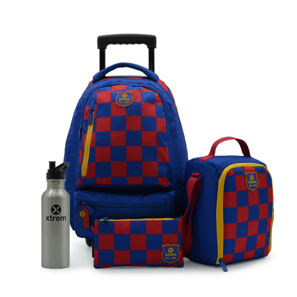 Pack Runpack 195 Checks Bluee L