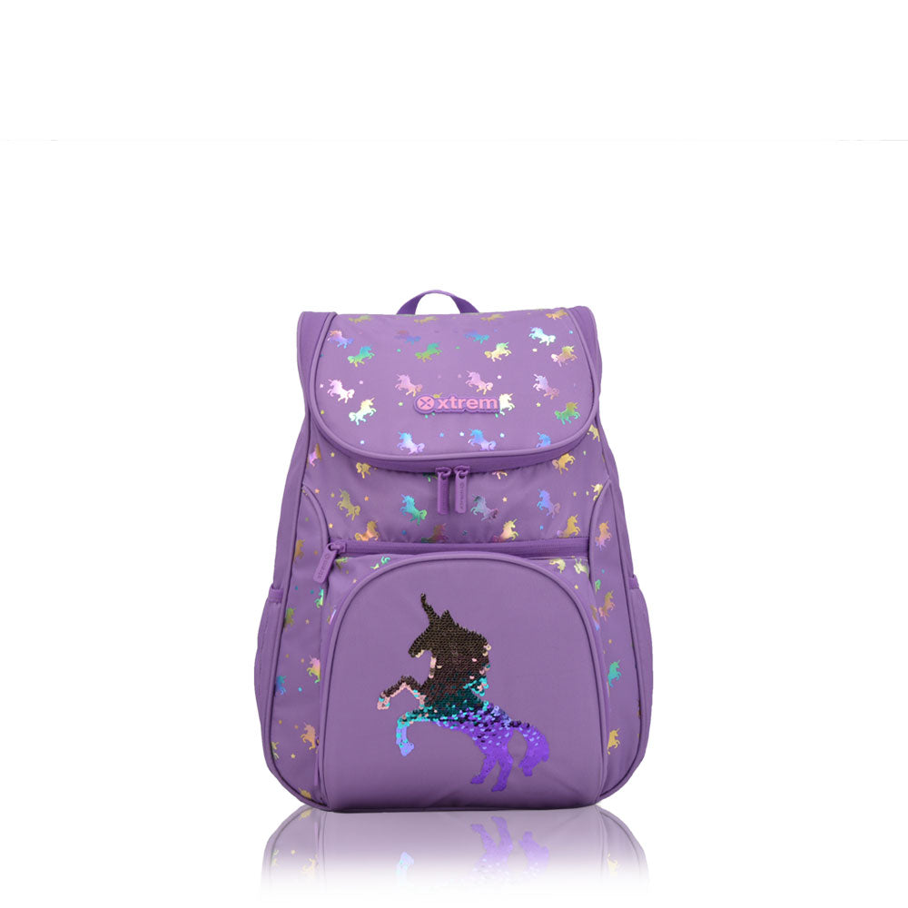 Mochila Flip 119 Magic Unicornio Purpleple M