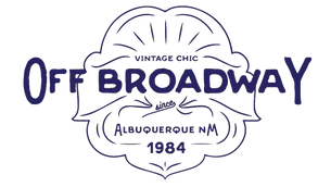 Off Broadway Vintage and Costumes Logo
