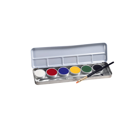 Ben Nye Primary Creme 6 Color Palette