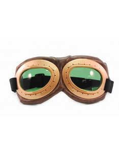 Brown & Gold Goggles