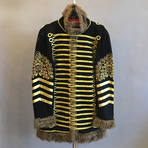 Black Military/Band Jacket