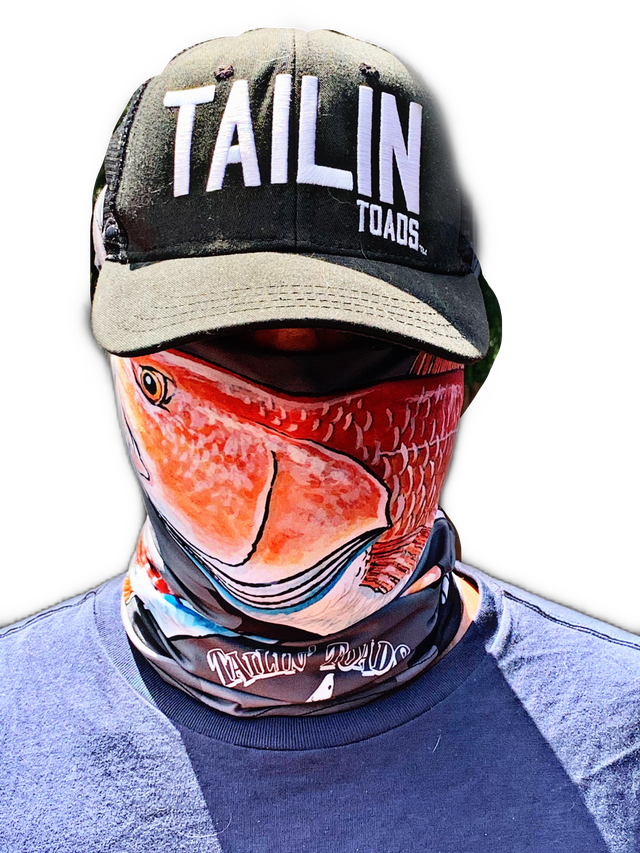 Face Shieldz Redfish Camo
