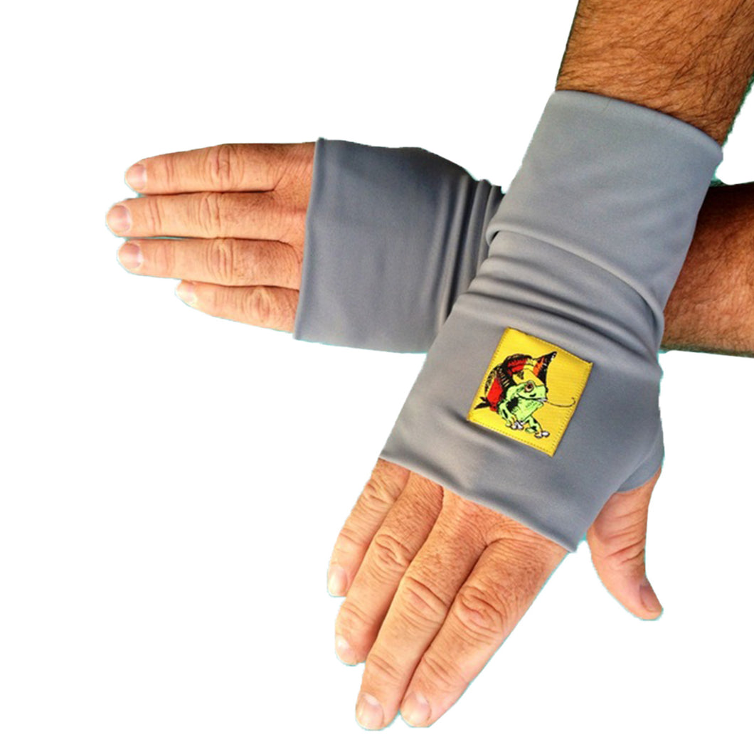 Fingerless Glovez Gray