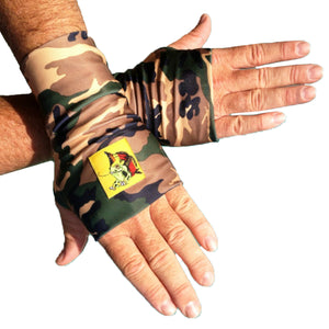Fingerless Glovez Camo